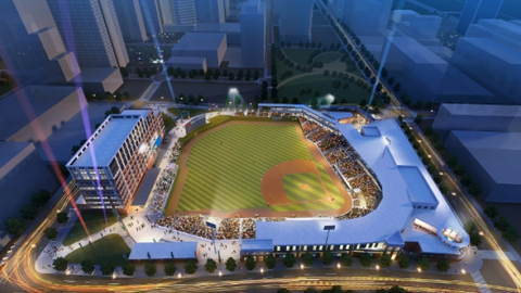 BB&T Ballpark will host the 2014 Triple-A National Championship Game.