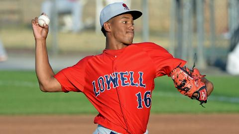 Kevin Steen went 3-5 with a 5.37 ERA in 14 starts for Class A Short Season Lowell last year.
