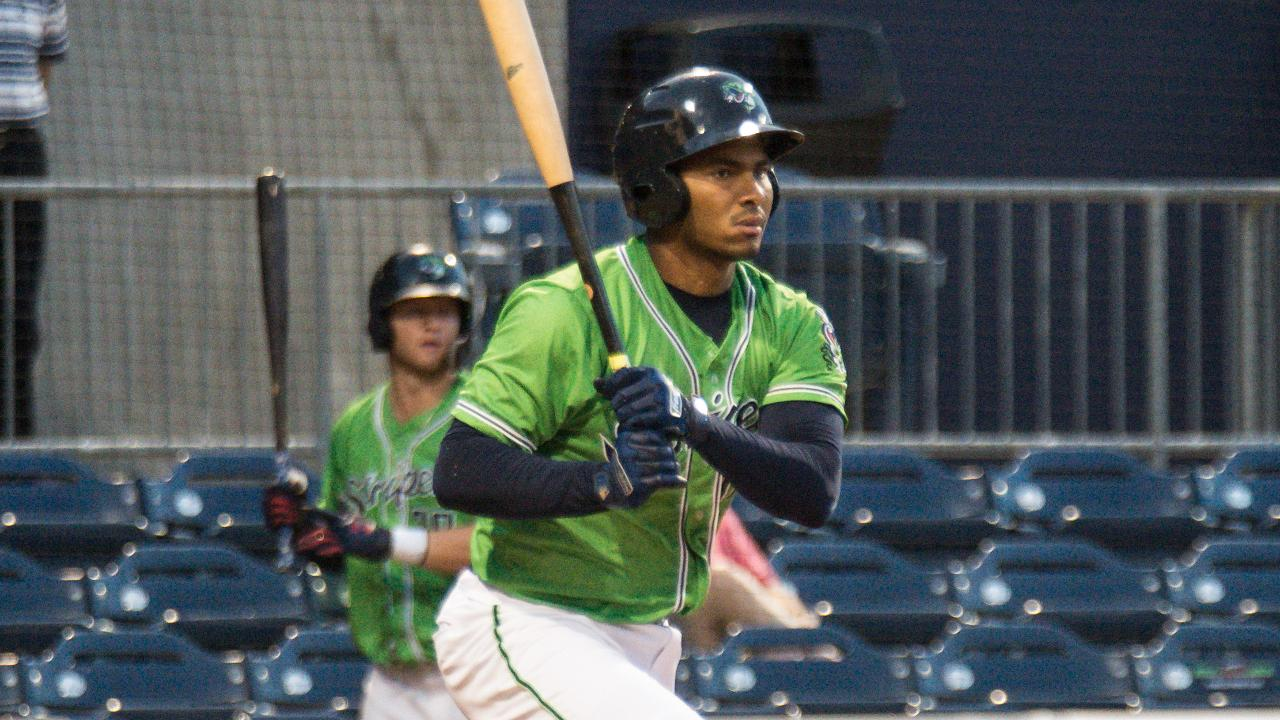 Carlos Franco went 2-for-4 with a double and three RBIs on Sunday. (Bernie  Connelly) 5322afe0f