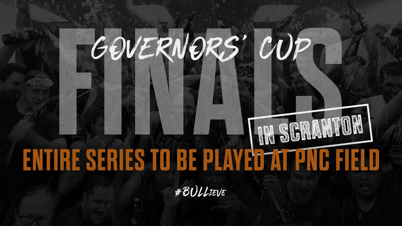 Entirety of Governors' Cup Finals Moved to Scranton | Durham
