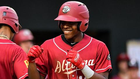 Ke'Bryan Hayes ranked fourth in the Eastern League with 31 doubles and 10th with a .293 batting average.