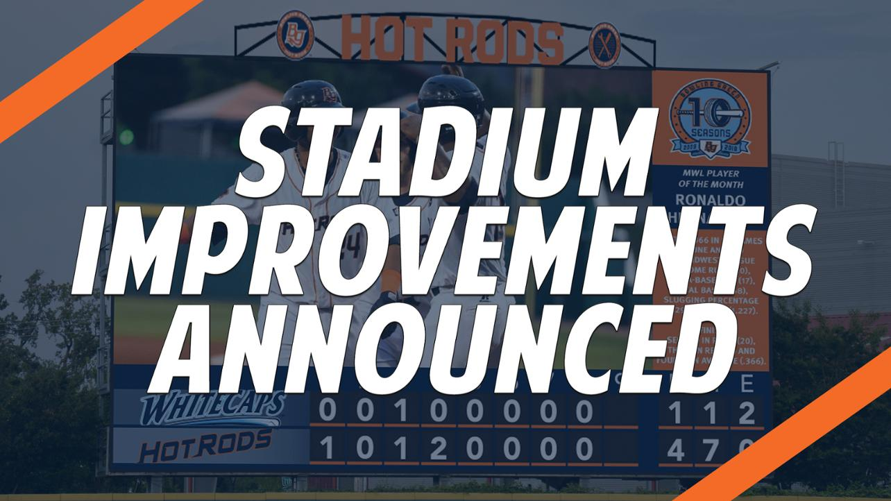 Hot Rods Announce Stadium Improvements