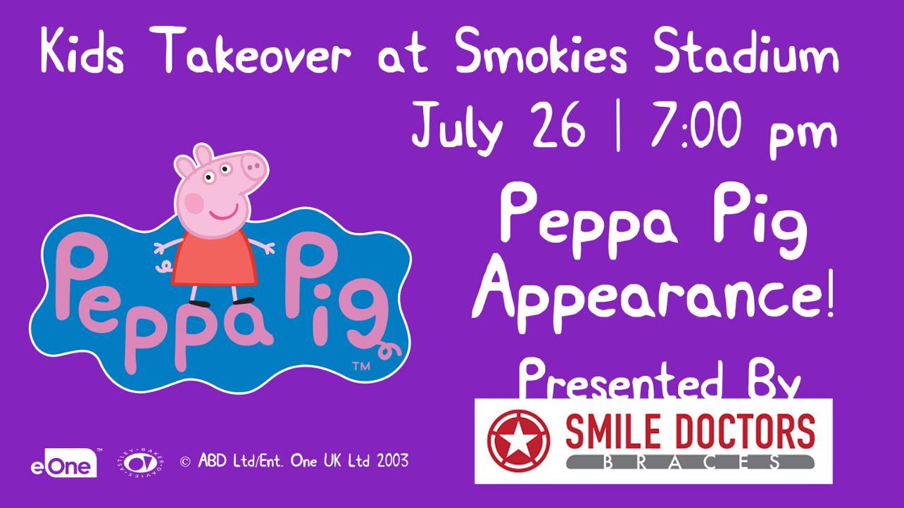 Peppa Pig media wall