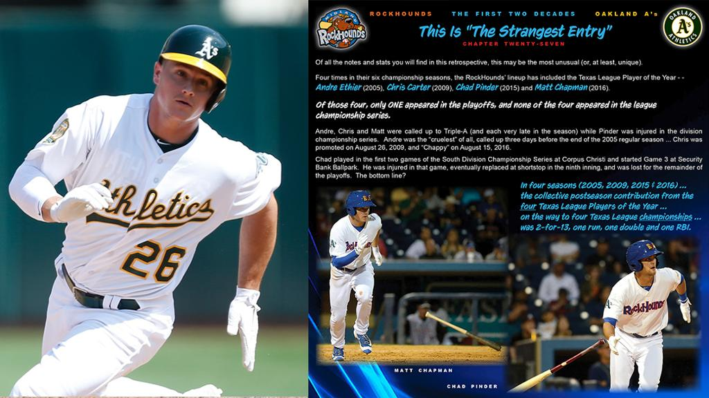 Two Decades of RockHounds Baseball: Chapter 27