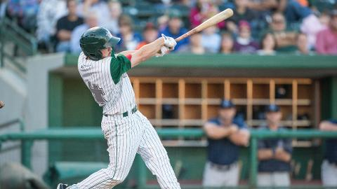 Tyler Stubblefield led the TinCaps Saturday with three hits.