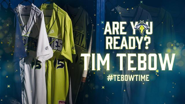 finest selection f47be e581e Tebow Time' Coming To Columbia | Columbia Fireflies News