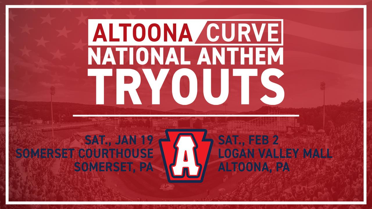 Curve to host National Anthem tryouts in Somerset, Altoona
