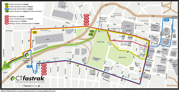 Parking transit hartford yard goats dunkin donuts park new ctfastrak service from throughout the greater hartford area to within two blocks of dunkin donuts park sciox Images