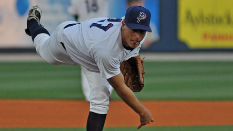 Tim Crabbe allowed one run on two hits for Pensacola in his first start of the season.