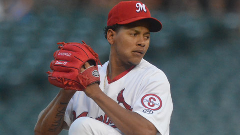Carlos Martinez has a 1.56 ERA in 17 1/3 innings for Memphis.