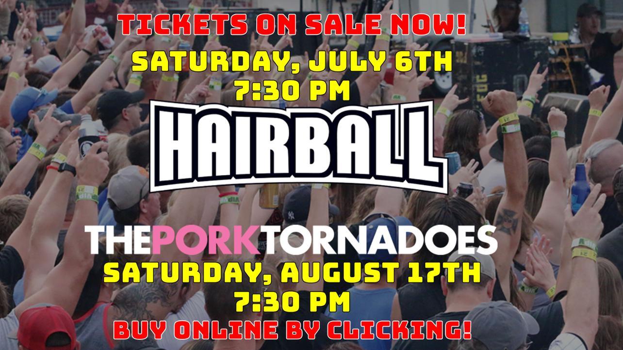 03-25 Hairball PT Tickets