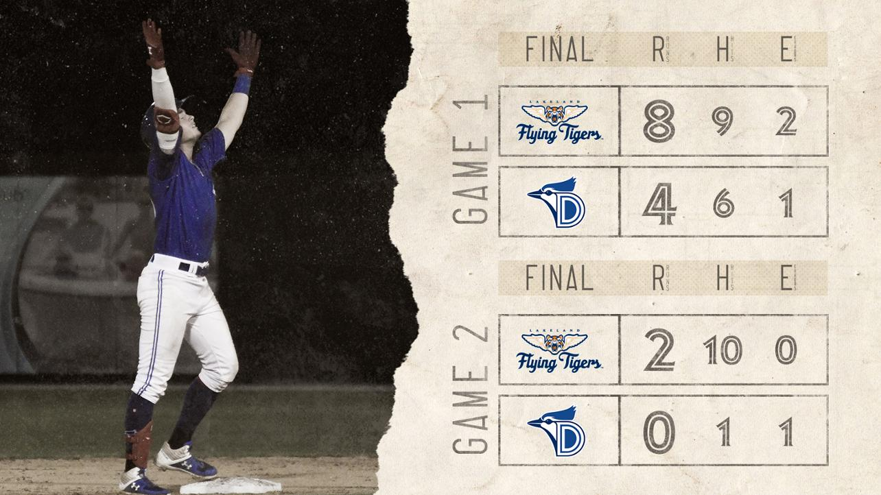 Blue Jays Open Series Doubleheader with Back to Back Losses