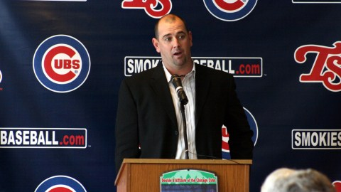 Brandon Hyde became the Dir. of Player Development for the Cubs on Aug. 29