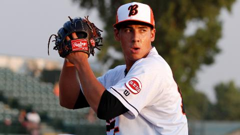 Robert Stephenson has fanned 13 and walked one in 14 2/3 innings.
