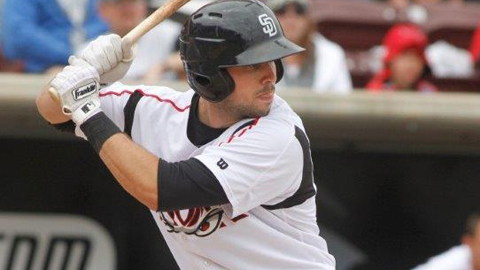 Austin Hedges is batting .271 in the Cal League.