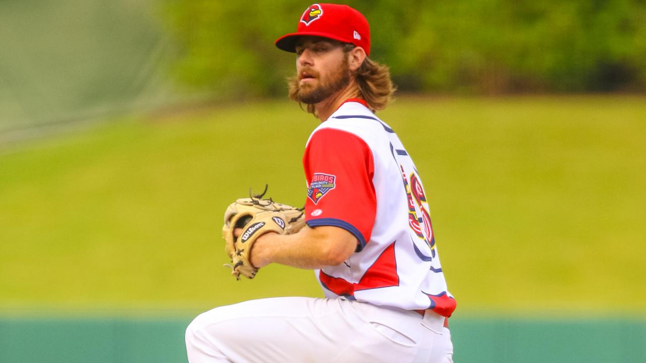 half off 7770c 054f9 Redbirds' Gant tosses eight shutout innings | MiLB.com News