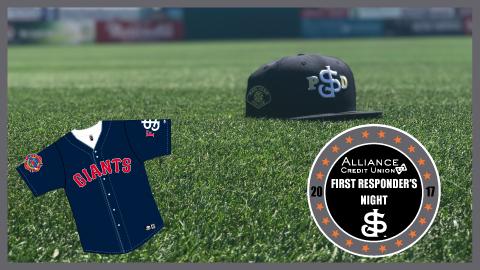 San Jose Giants Unveil San Jose Police Department Hat and
