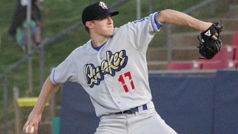 Ross Stripling ranked ninth in the Cal League with a 2.94 ERA.