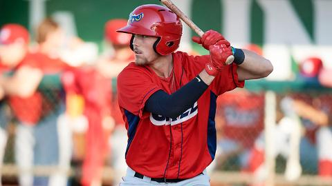 Brandon Marsh collected 22 extra-base hits in 39 games last season with Rookie-level Orem.
