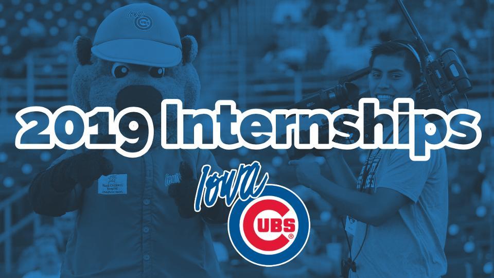 2019 iowa cubs internships iowa cubs news