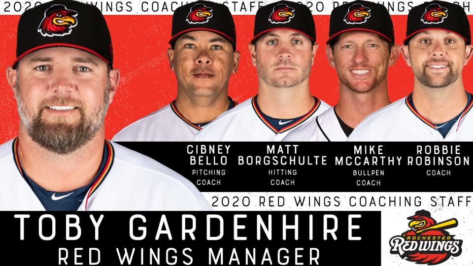 Toby Gardenhire named Rochester Red Wings new manager