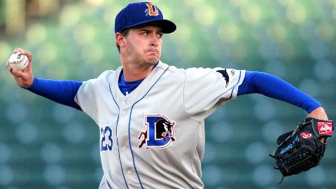 Jake Odorizzi is tied for ninth in the International League with 66 strikeouts.