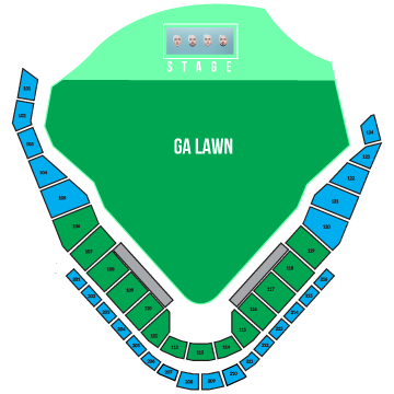 Kings of Leon Seating Chart