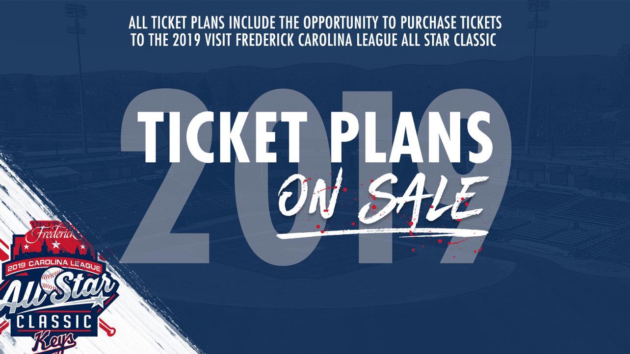 2019 Ticket Plans