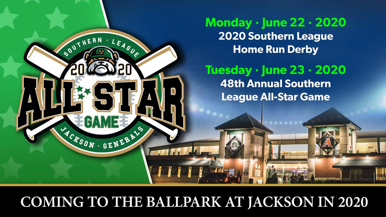 2020 Home Run Derby.Jackson Generals To Host 2020 Southern League All Star Game