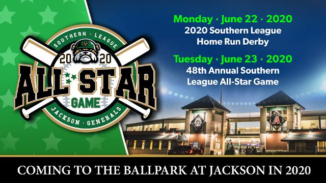 Chattanooga Lookouts Schedule 2020 Jackson Generals to host 2020 Southern League All Star Game