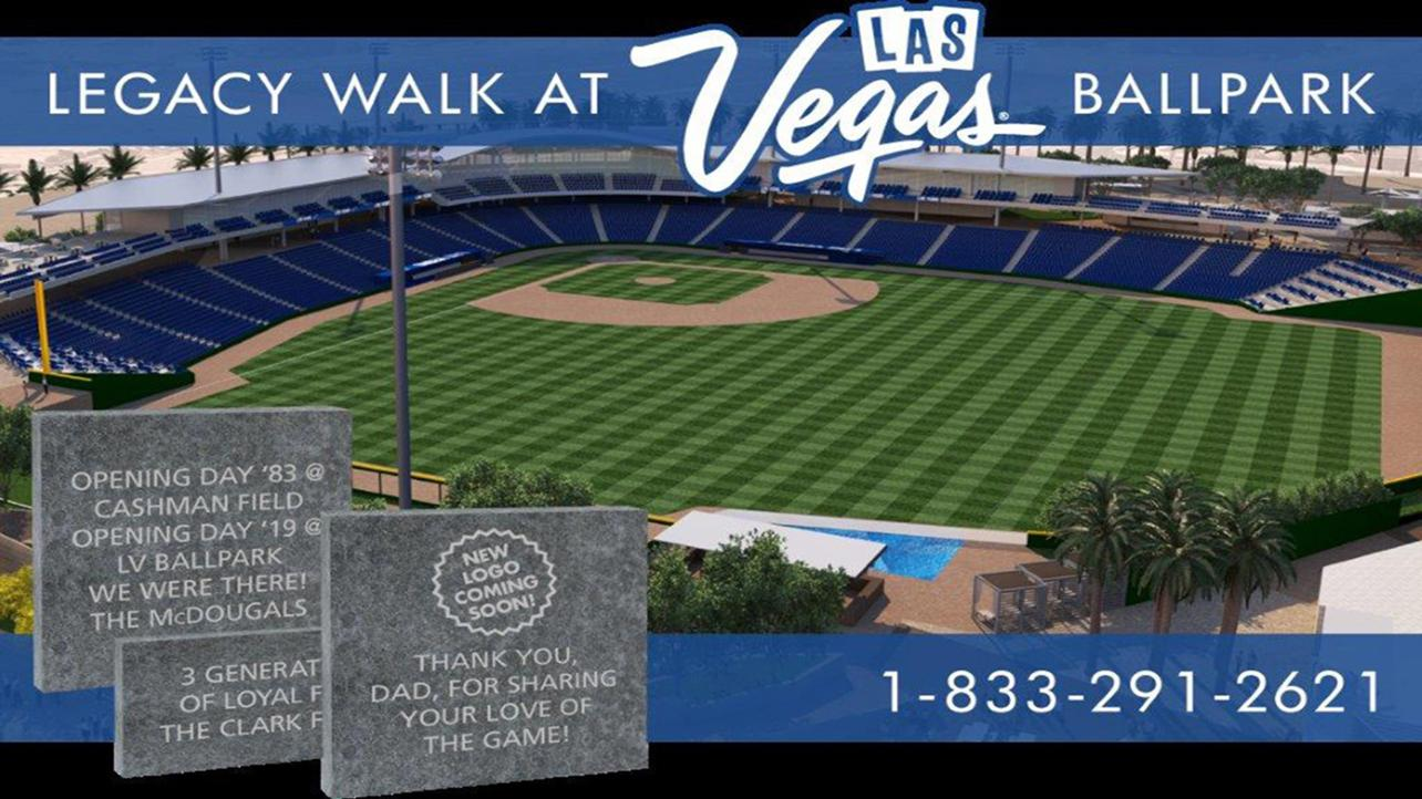 51s Announce Legacy Walk at L.V. Ballpark Brick Program
