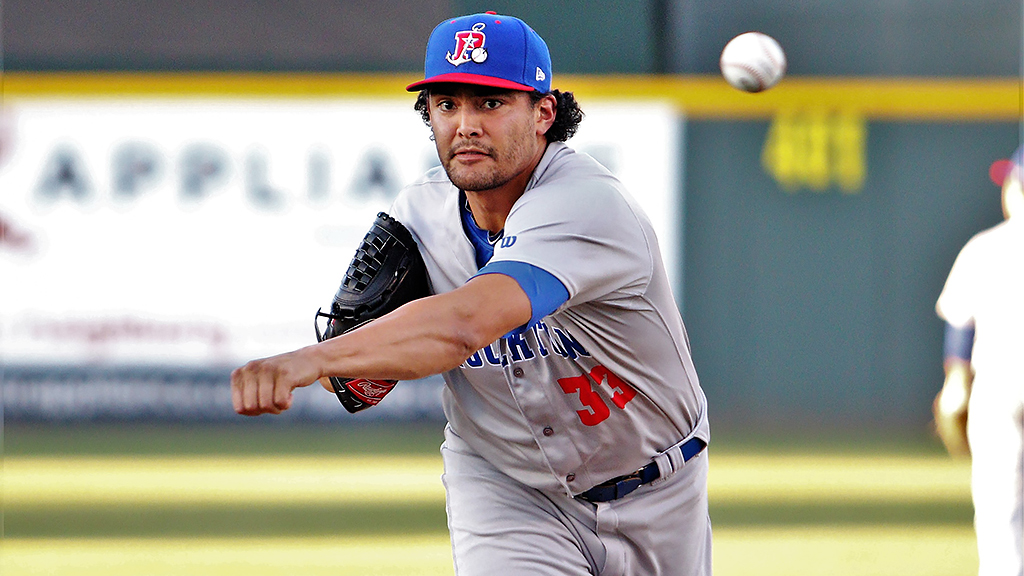 Manaea, first-place Aviators closing in on playoff berth