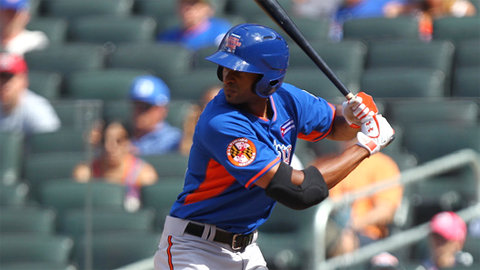 Henry Urrutia was selected to the Futures Game in his first pro season.