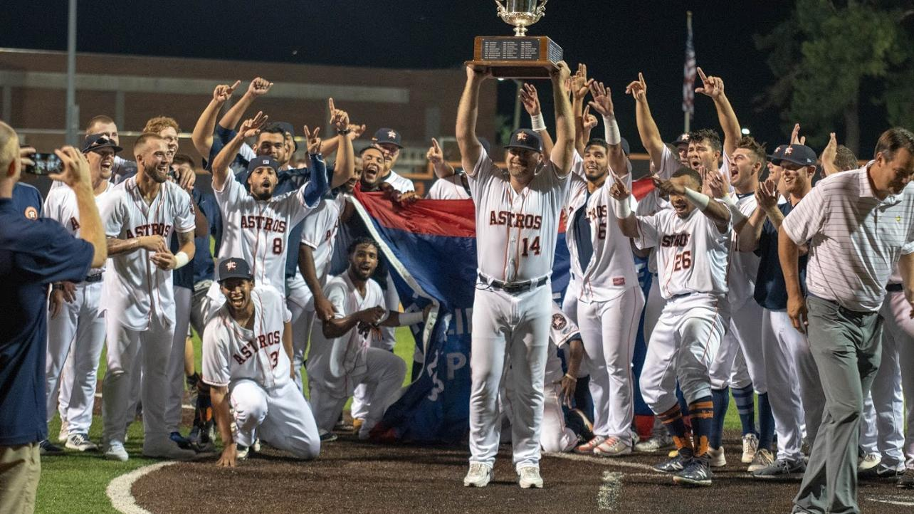 Astros win one-game showdown, capture Mills Cup