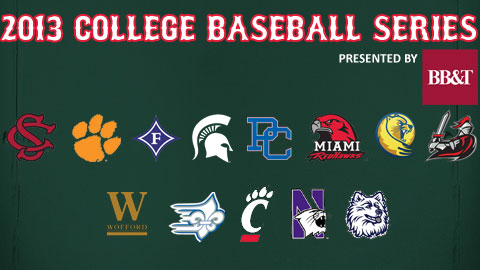 21 different universities will make Fluor Field a destination this year.