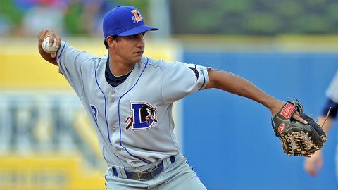 Cole Figueroa started the Bulls' first triple play since Aug. 2, 2005.