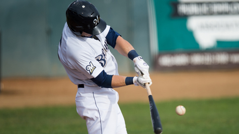 Michael Ratterree hit .318 wtih 12 homers and 58 RBIs in his first pro season.