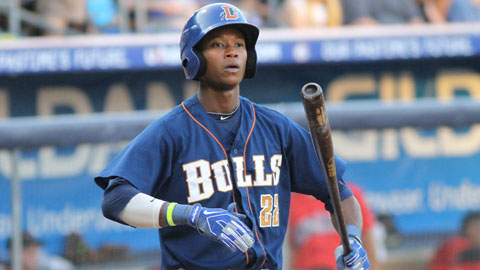TIm Beckham ranked fifth in the International League with 71 runs scored.
