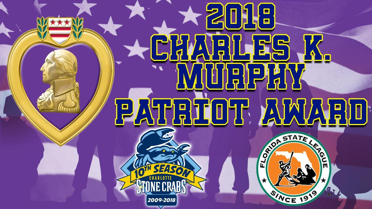 stone crabs awarded florida state league patriot award! | stone crabs