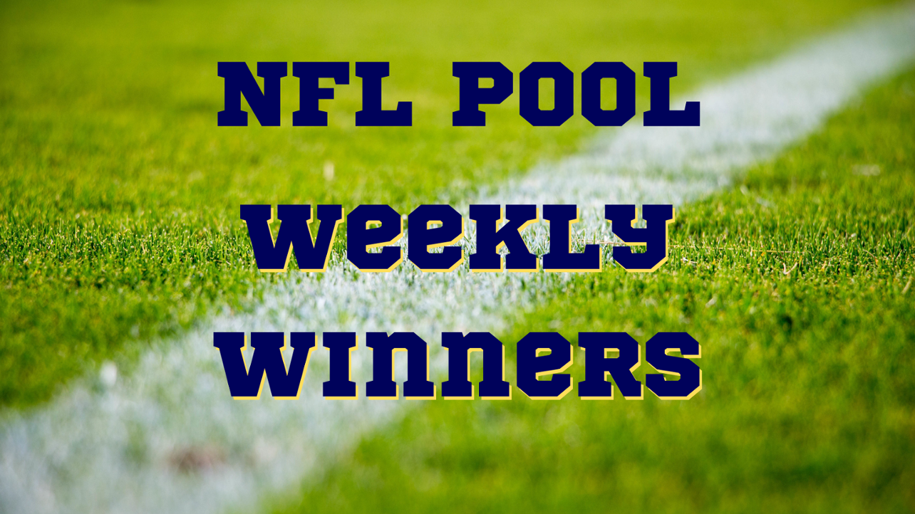 Community Field NFL Contest Week Five Winners