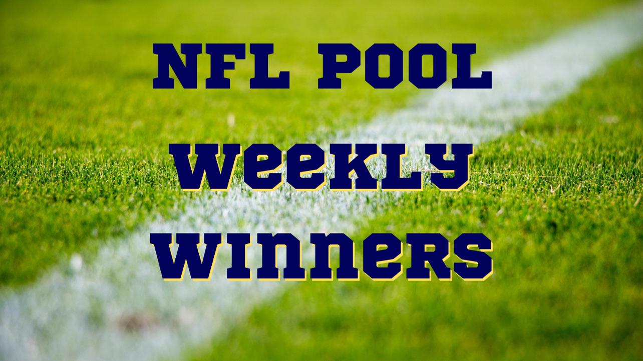 Community Field NFL Contest Week Six Winners