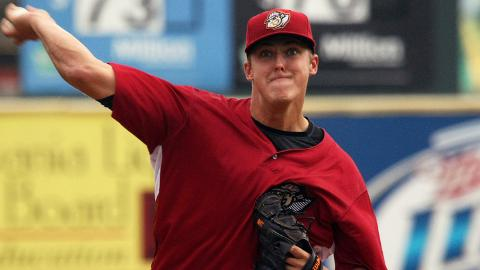 Jameson Taillon is 2-4 with a 3.26 ERA in seven starts for Altoona.