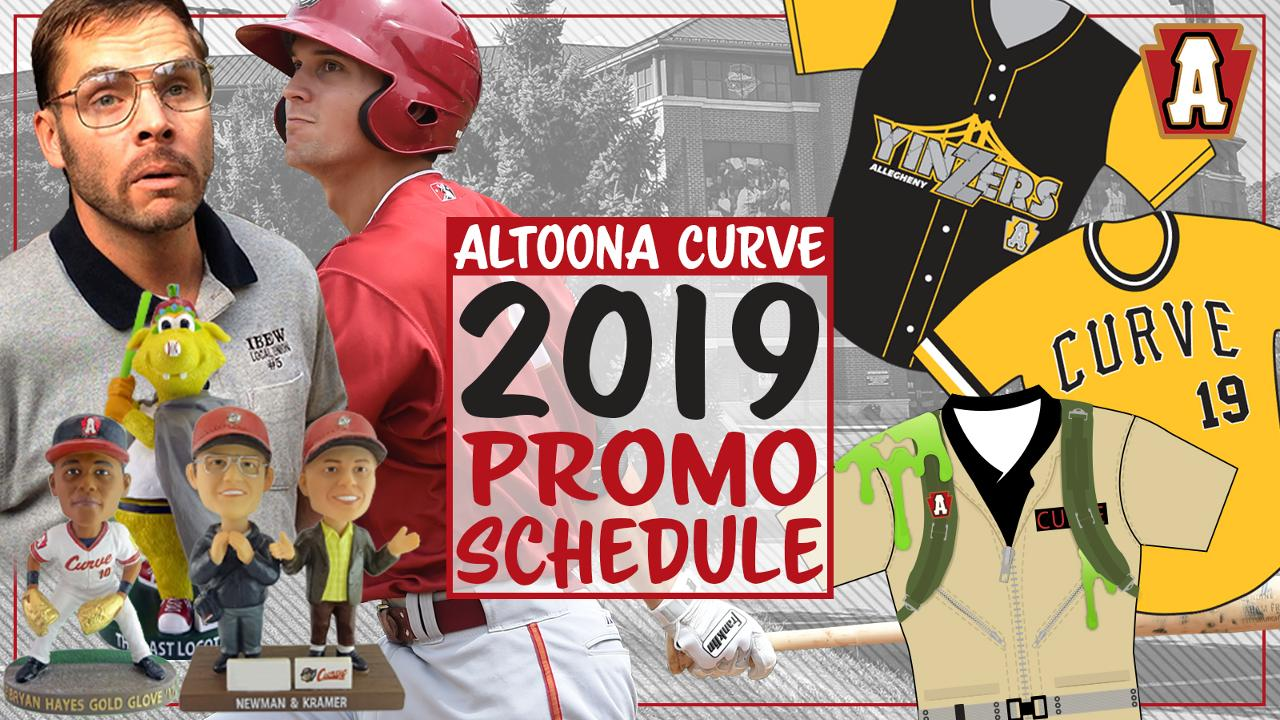 Curve release full 2019 promotional schedule | Altoona Curve News