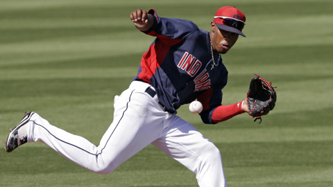 Francisco Lindor got on base at a .352 clip in 122 games for Lake County last year.