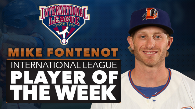 Mike Fontenot Named IL Player of the Week | Durham Bulls News