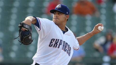 Martin Perez was 1-4	with a 5.45 ERA in 12 big league last season.