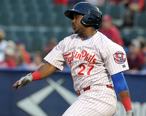 Maikel Franco was named as one of the Paul Owens Award recipients Monday afternoon by the Phillies.