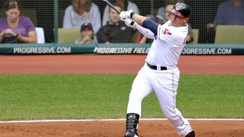 Asdrubal Cabrera, a Timber Rattler in 2005, is back in the playoffs with the Cleveland Indians this season.