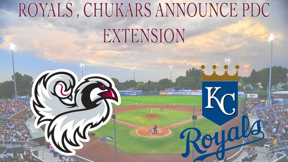 Royals, Chukars Announce PDC Extension