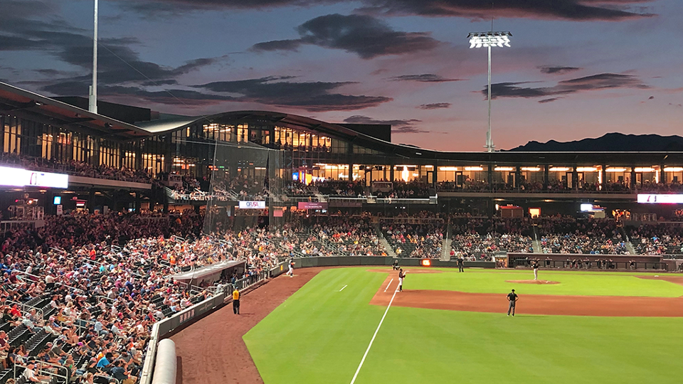 On the Road: Exploring Las Vegas Ballpark | MiLB com News